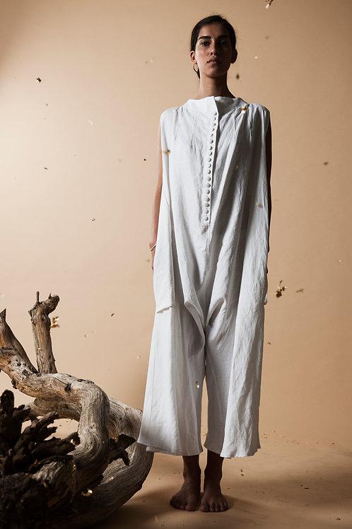 Organic Linen Overall