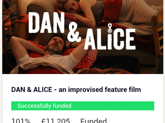 We're Funded! Pre-production can begin.