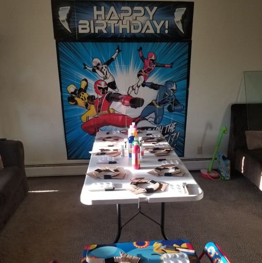 Spiderman Birthday