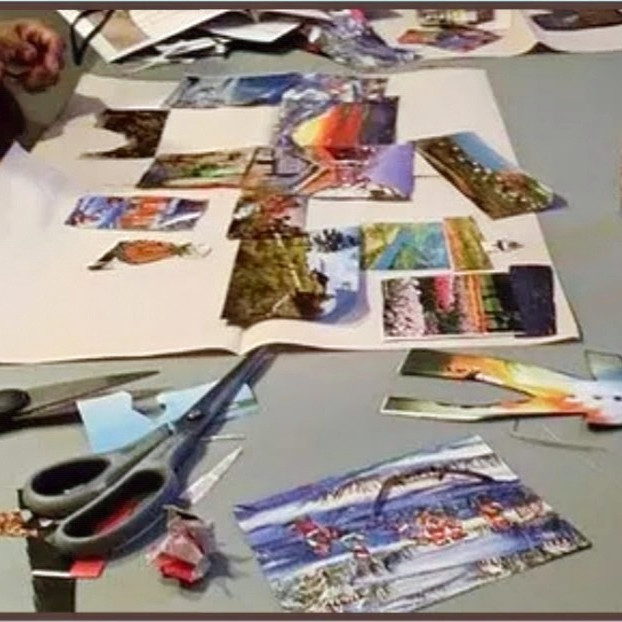 Collage de vie: Atelier #331 (2)