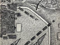 """""""like dancing"""" - Drawing in Ballpoint Pen"""