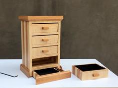 Hidden Compartment Jewelry Box