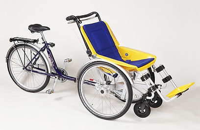Duet Wheelchair Bicycle Tandem Duet Basic model