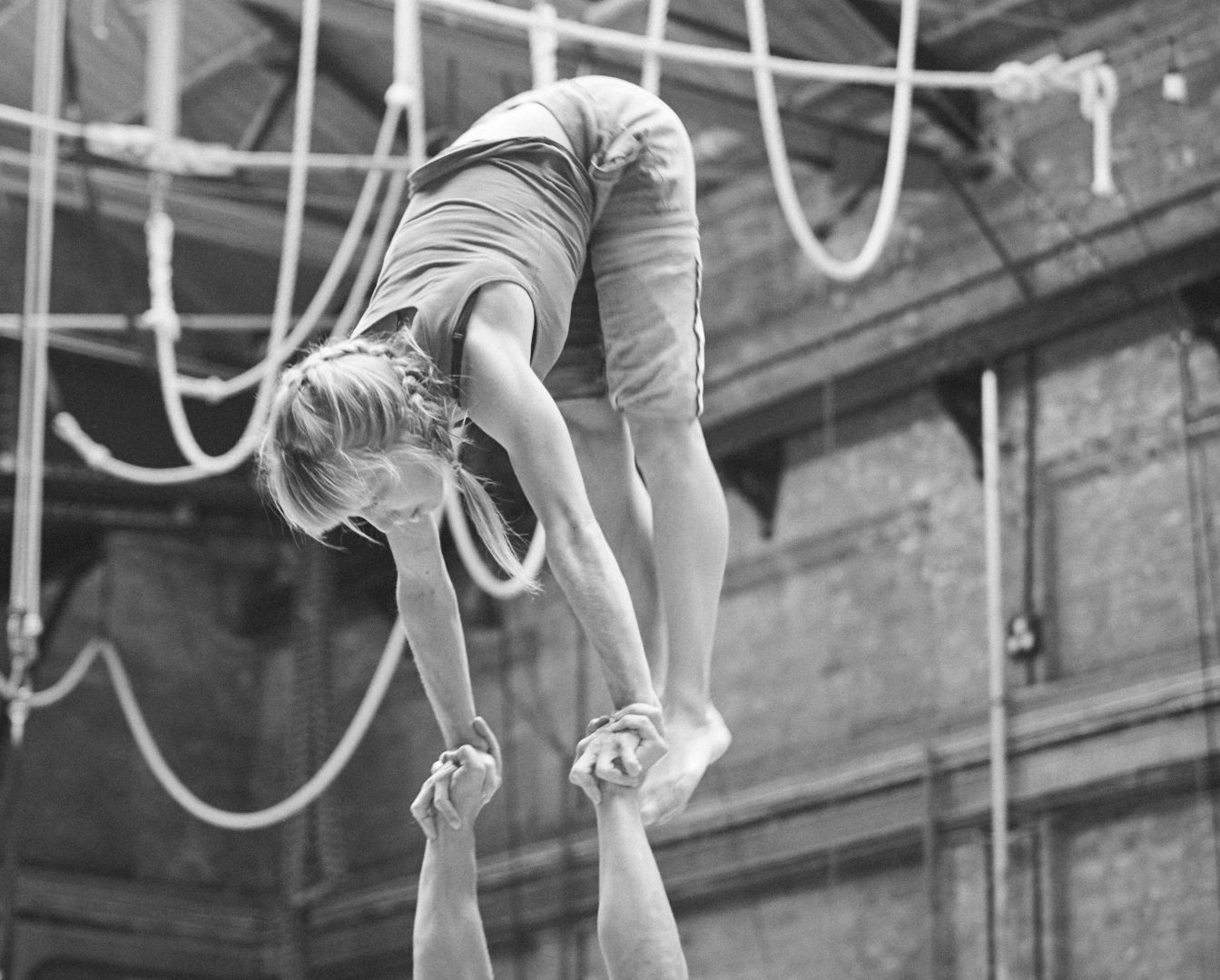 Training at the National Centre for Circus Arts