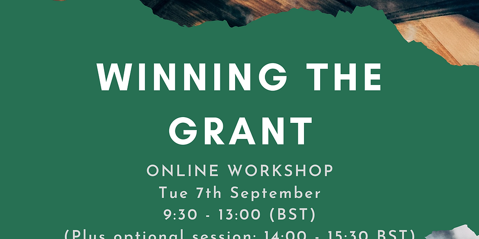 Workshop: Winning the Grant: Demystifying the research funding landscape