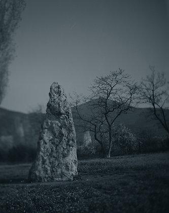 Skelsky Menhir—Moonlight