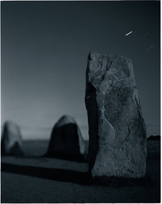 Ales Stenar Stone Ship—Moonlight