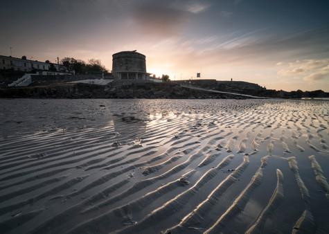 Seapoint Sunset, Dublin