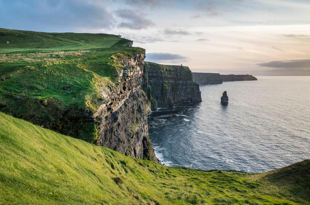 Summer Evening Cliffs