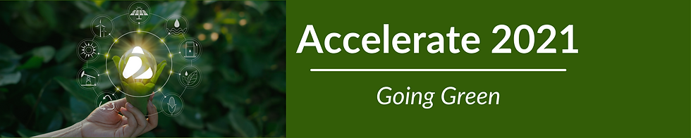 Accelerate 2021 banner for client portal