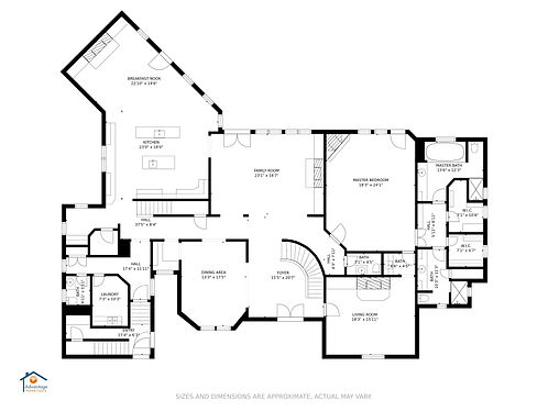 Main level _ floor plan