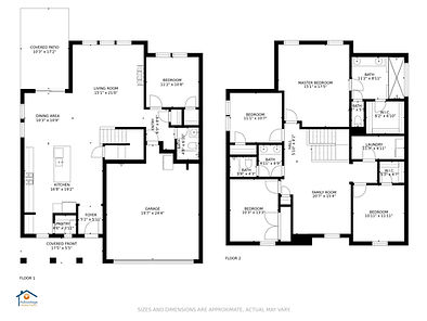 Affordable floor plan for real estate marketing of home for sale.
