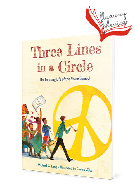 Look Inside Three Lines in a Circle