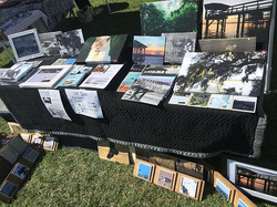 Still Nature booth is set up and ready to rock. Tybee lighthouse market 1-5pm