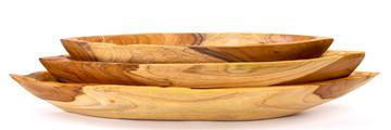 Canoes Wood Bowls