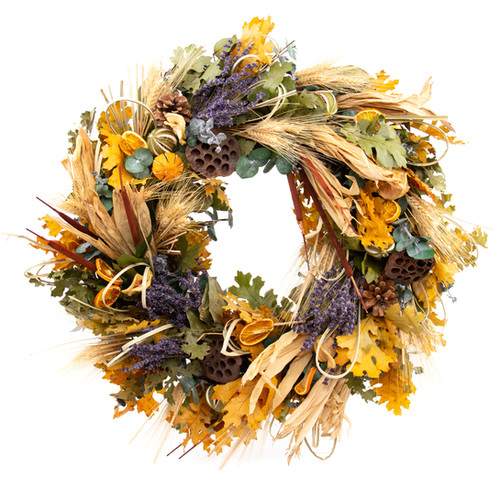 Fall Lavender Wreath