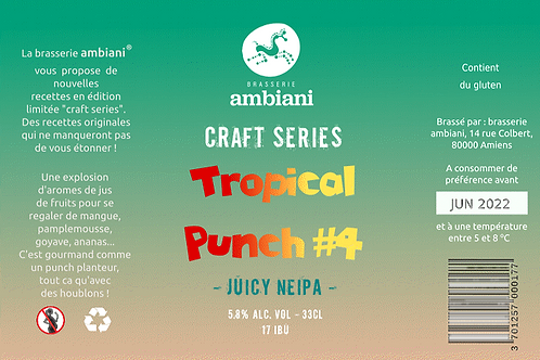 Tropical Punch #4 - Juicy New England IPA