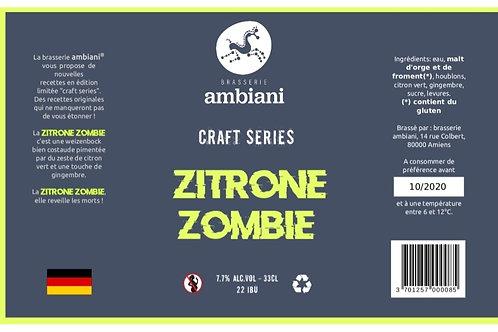 Zitrone Zombie - Weizenbock - 24 x 33cL