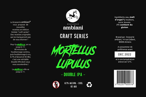 Mortellus Lupulus - Double IPA - 33cL