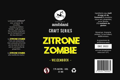 Zitrone Zombie - Weizenbock - 33cL