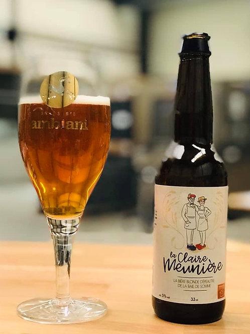 Bière Blonde d'Épeautre La Claire Meunière