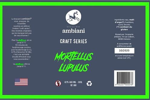 Mortellus Lupulus - Double IPA - 33cL