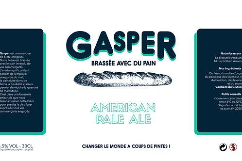 Gasper - American Pale Ale / Pack 12 x 33cL