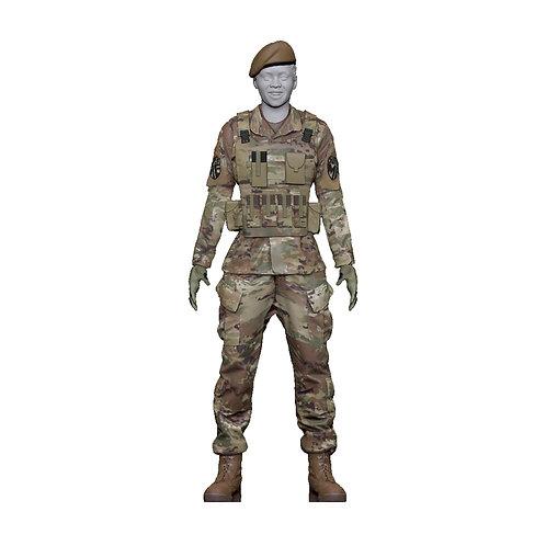 Mini Army Beret (F)
