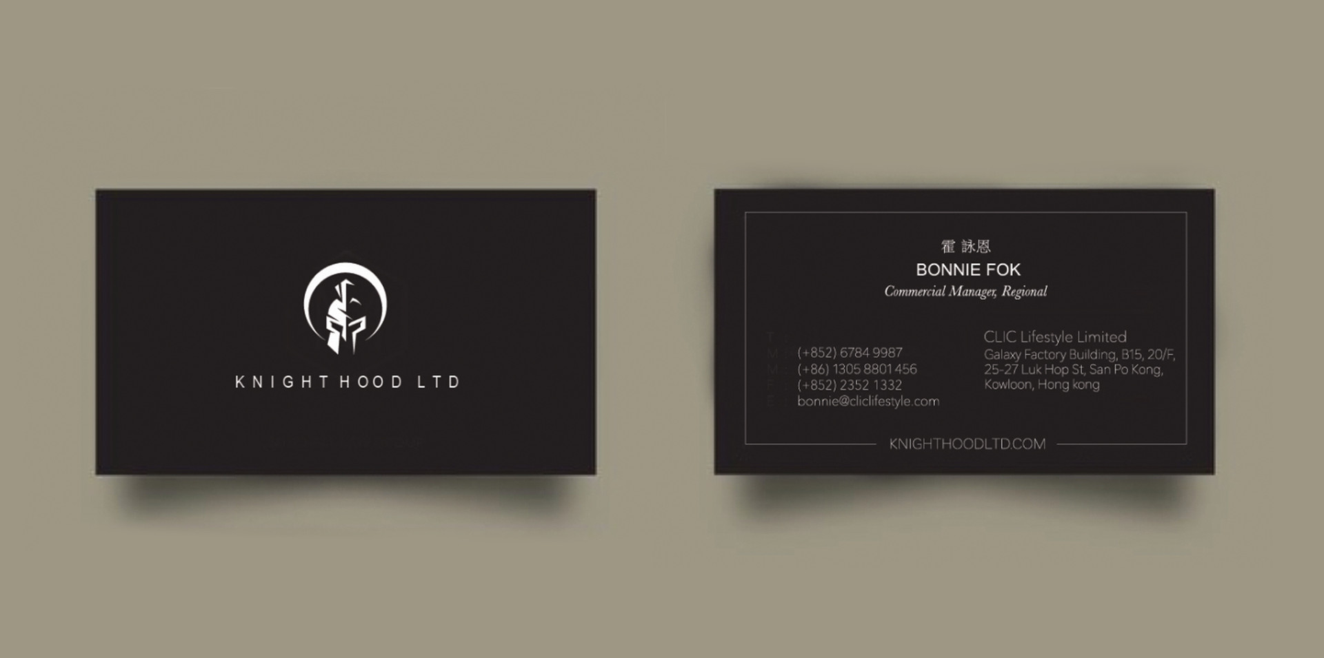 Print Collateral Busniess Card