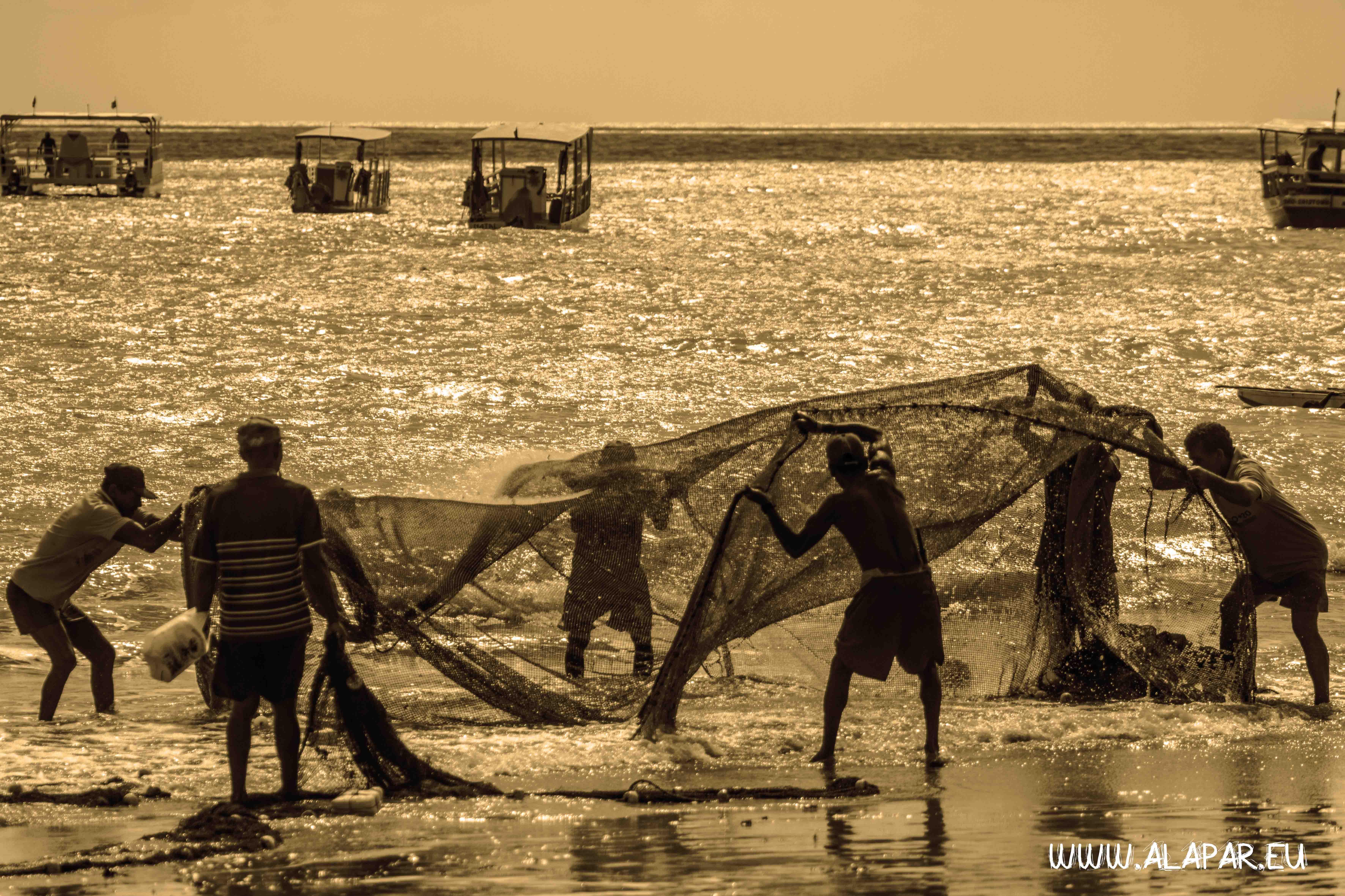 Os pescadores de Maracajaú