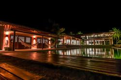 A Villa da noite