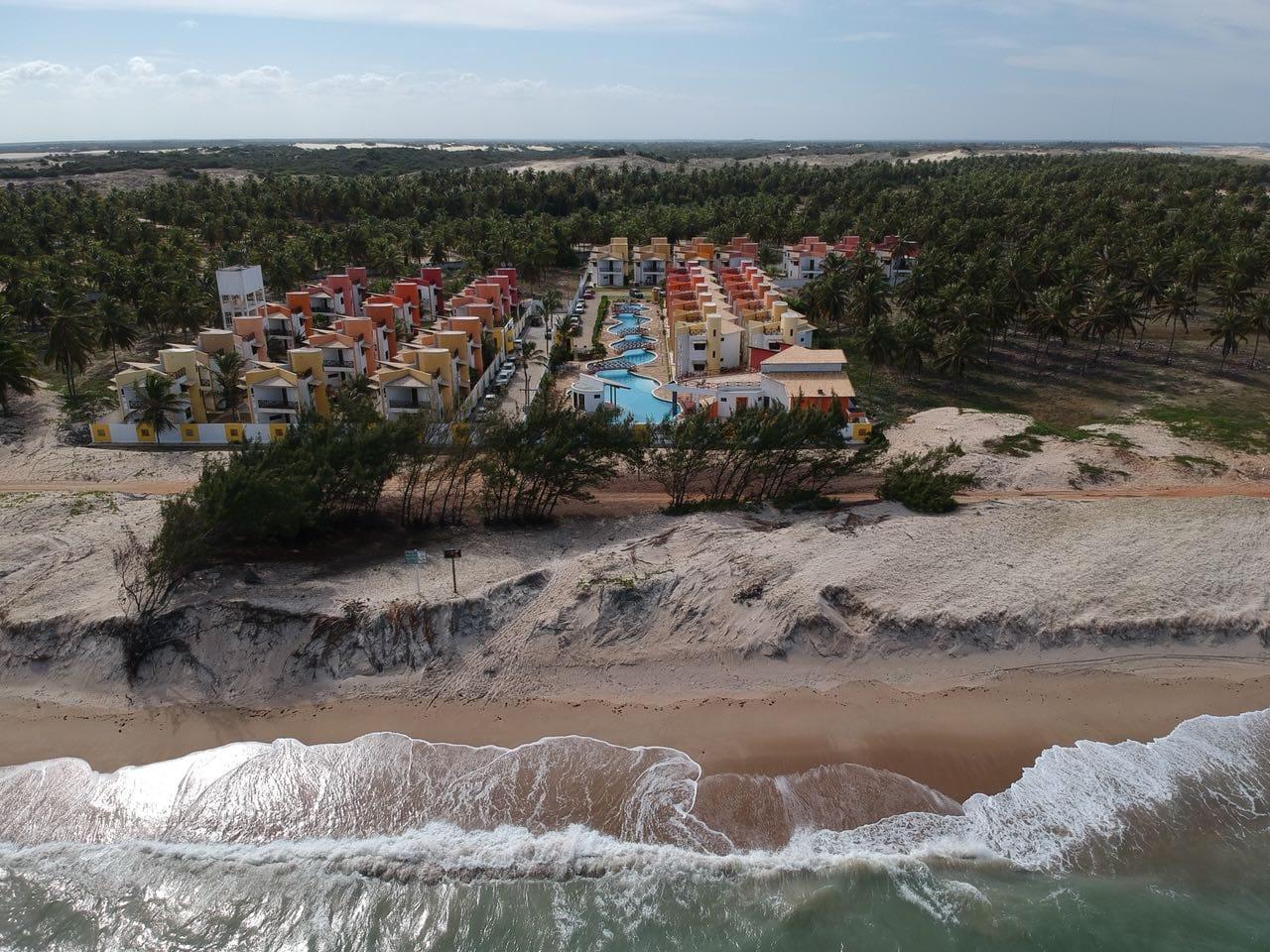 Imagen aérea do Condominio Paraíso de Maracajaú I