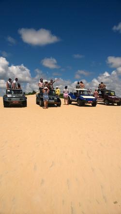 Passeios nas dunas de Maracajaú