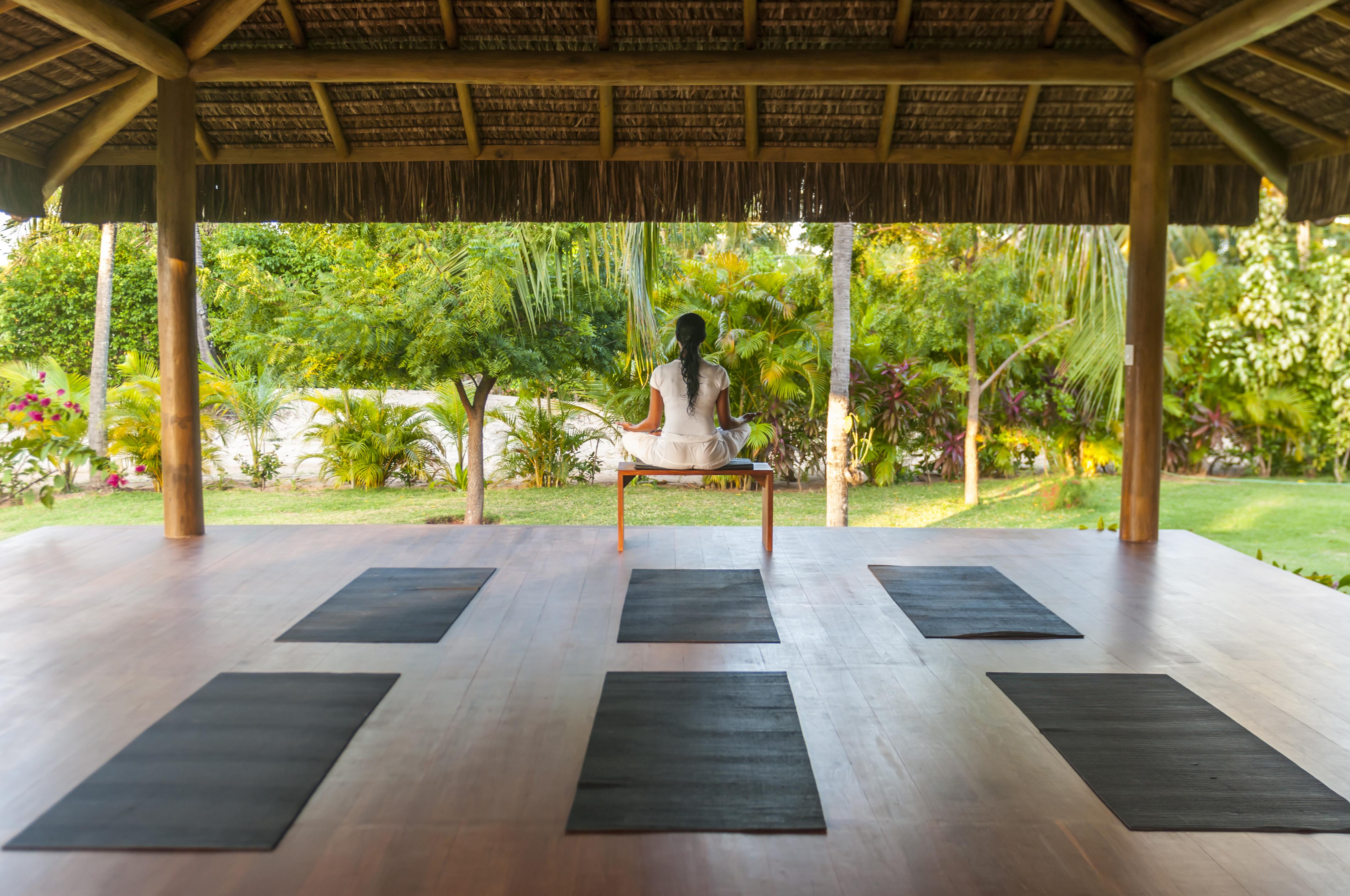 O lugar ideal onde fazer ioga