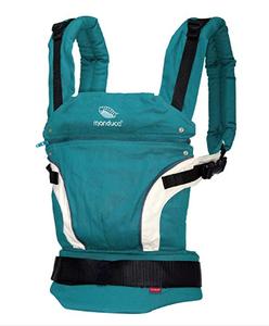mochila portabebés manduca verde