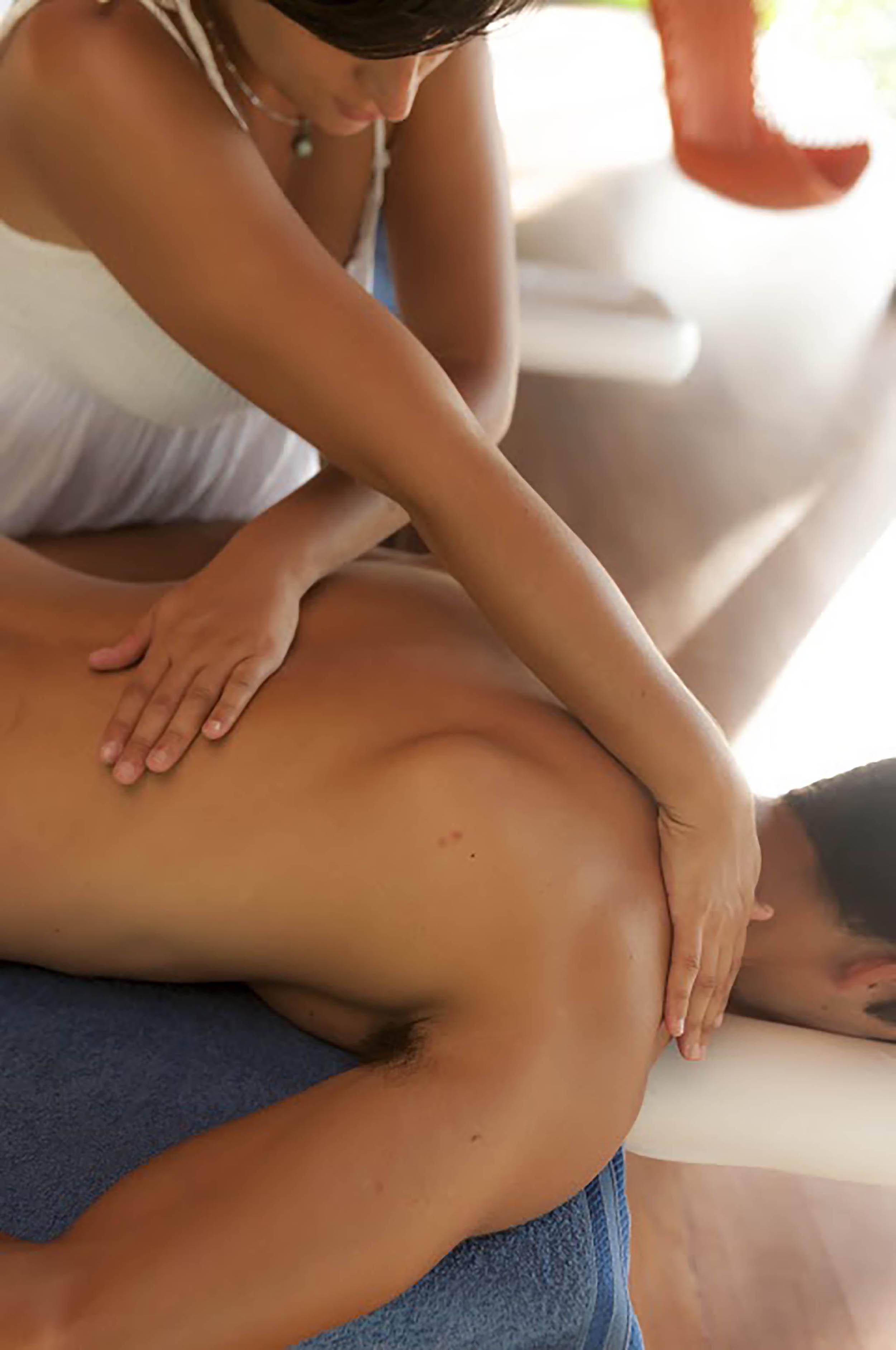 Você pode desfrutar de uma massagem