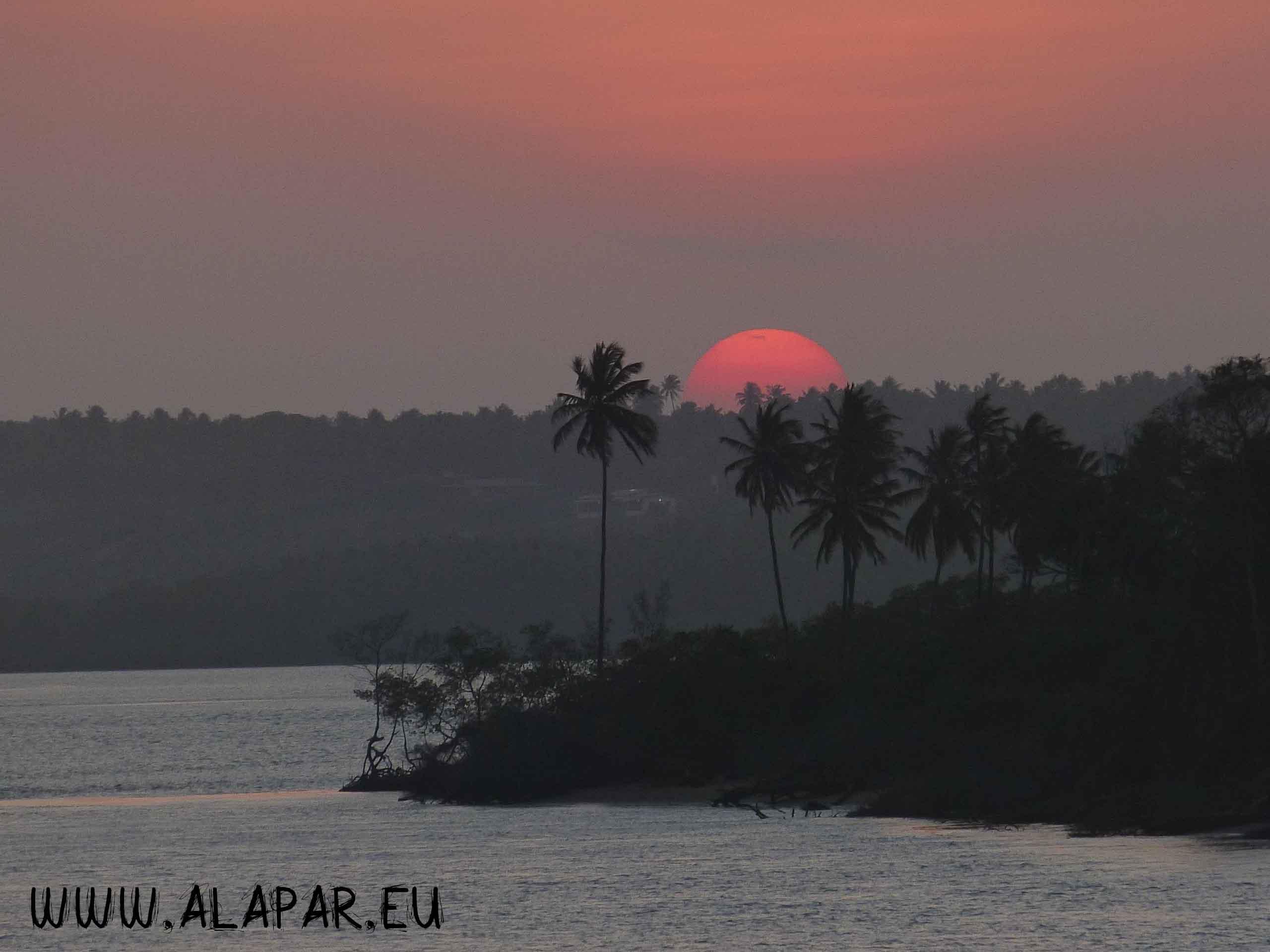 Pôr de sol em Pipa