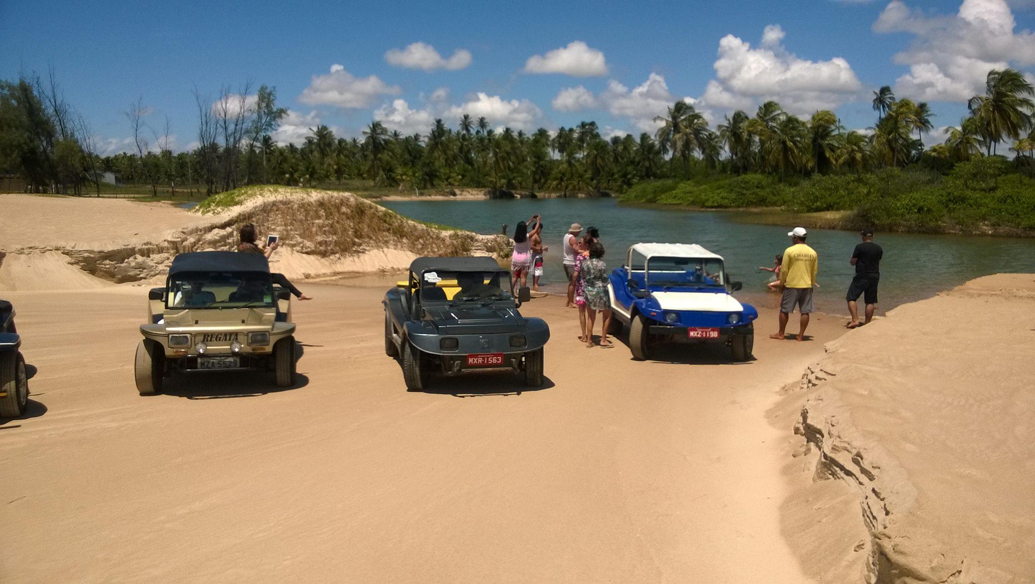As lagoas de Maracajaú