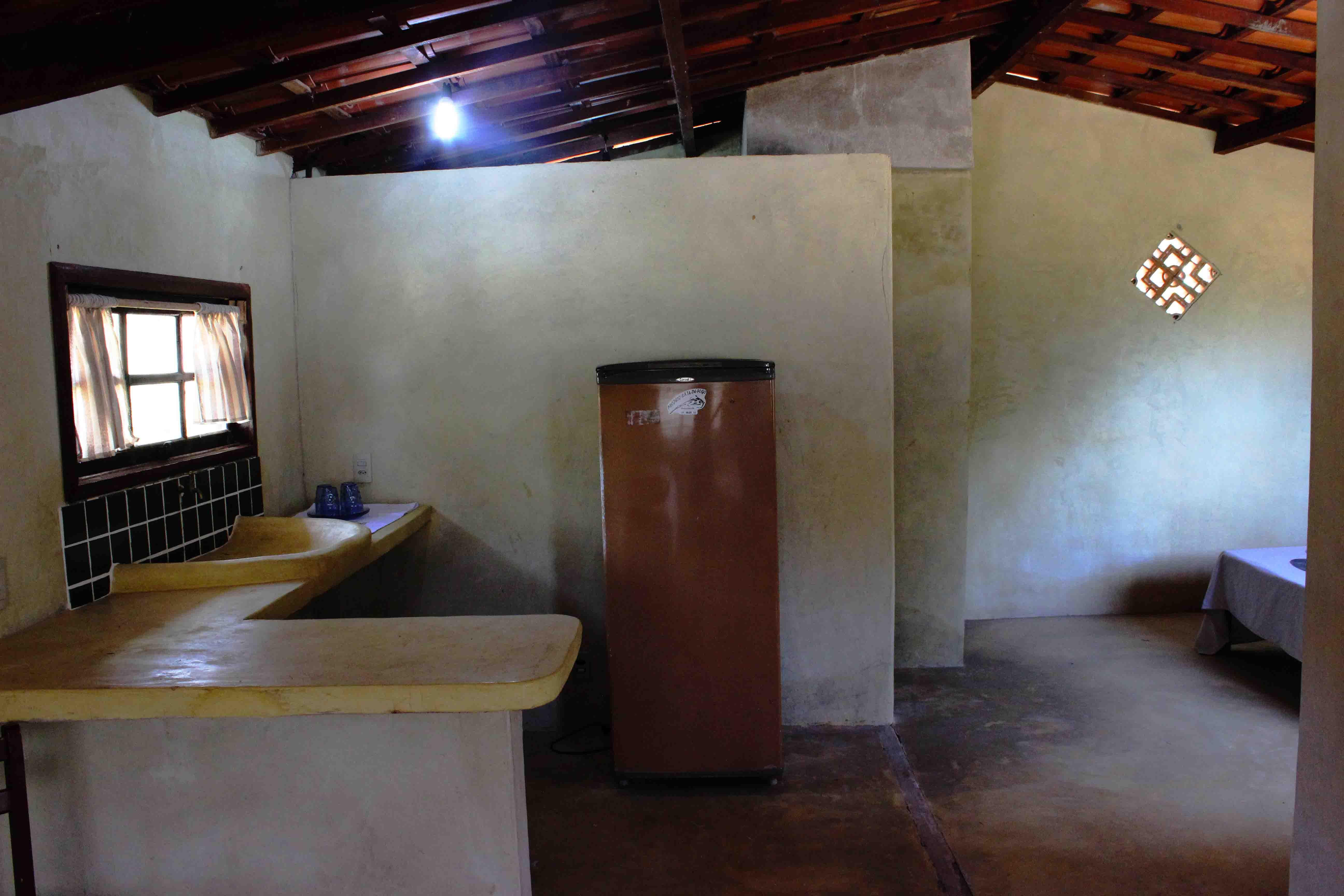 Cozinha do Chalé amarelo