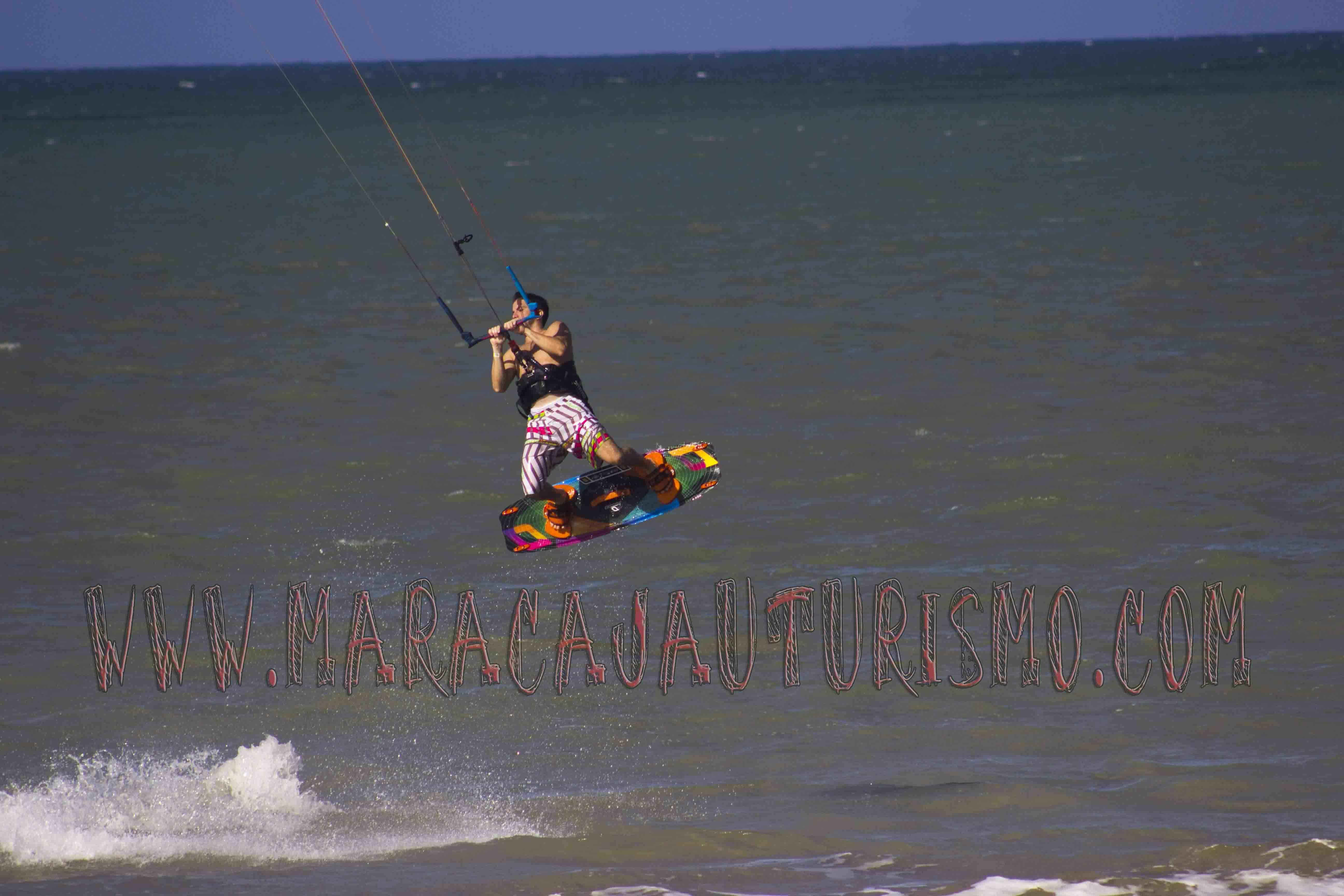 Ideal para a prática de kitesurf