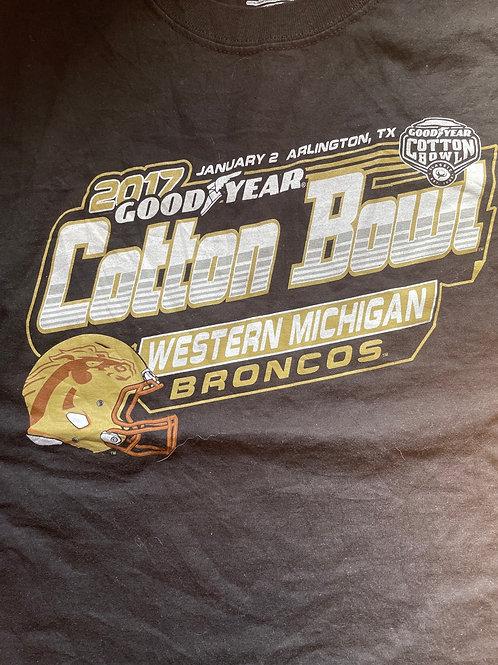 Western Michigan broncos cotton bowl men tee