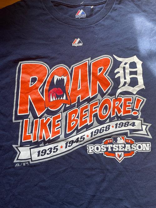 Roar like before Detroit lions men's tee