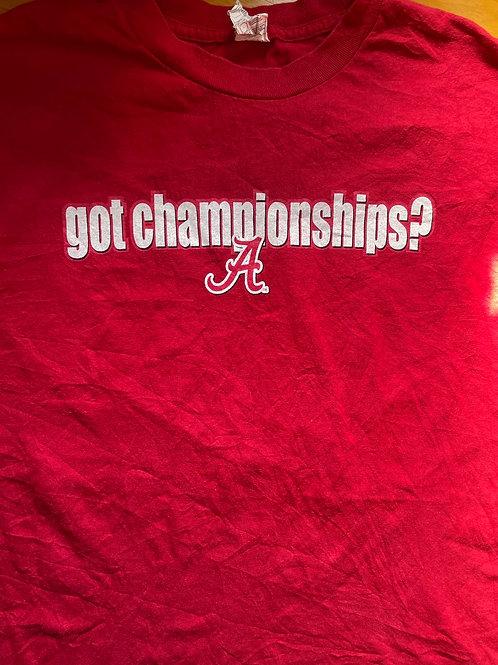 Alabama Got Championships tee