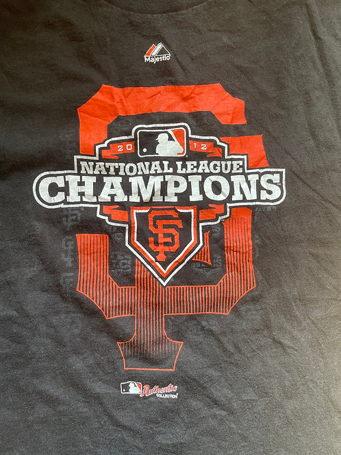 SF giants 2012 champions men's tee