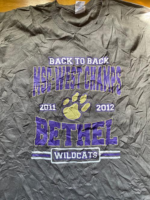 Bethel wildcats mens tee