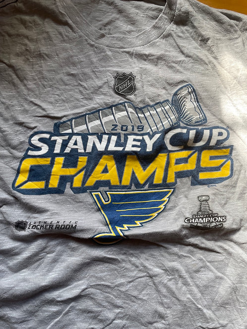Blues Stanley cup champions men's tee