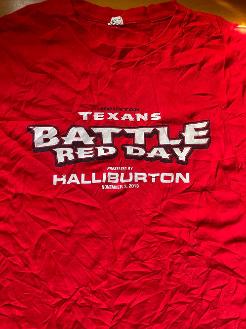 Houston Texans 2013 battle red day
