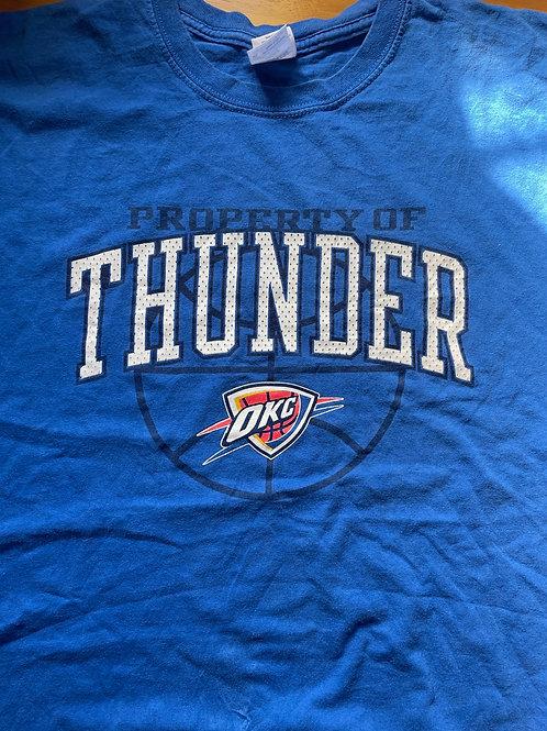 OKC Thunder men's tee