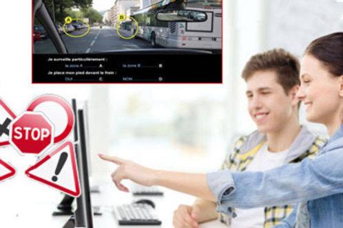 Préparation et présentation à l 'examen du code de la route.