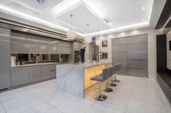Cozinha Cinza Laca